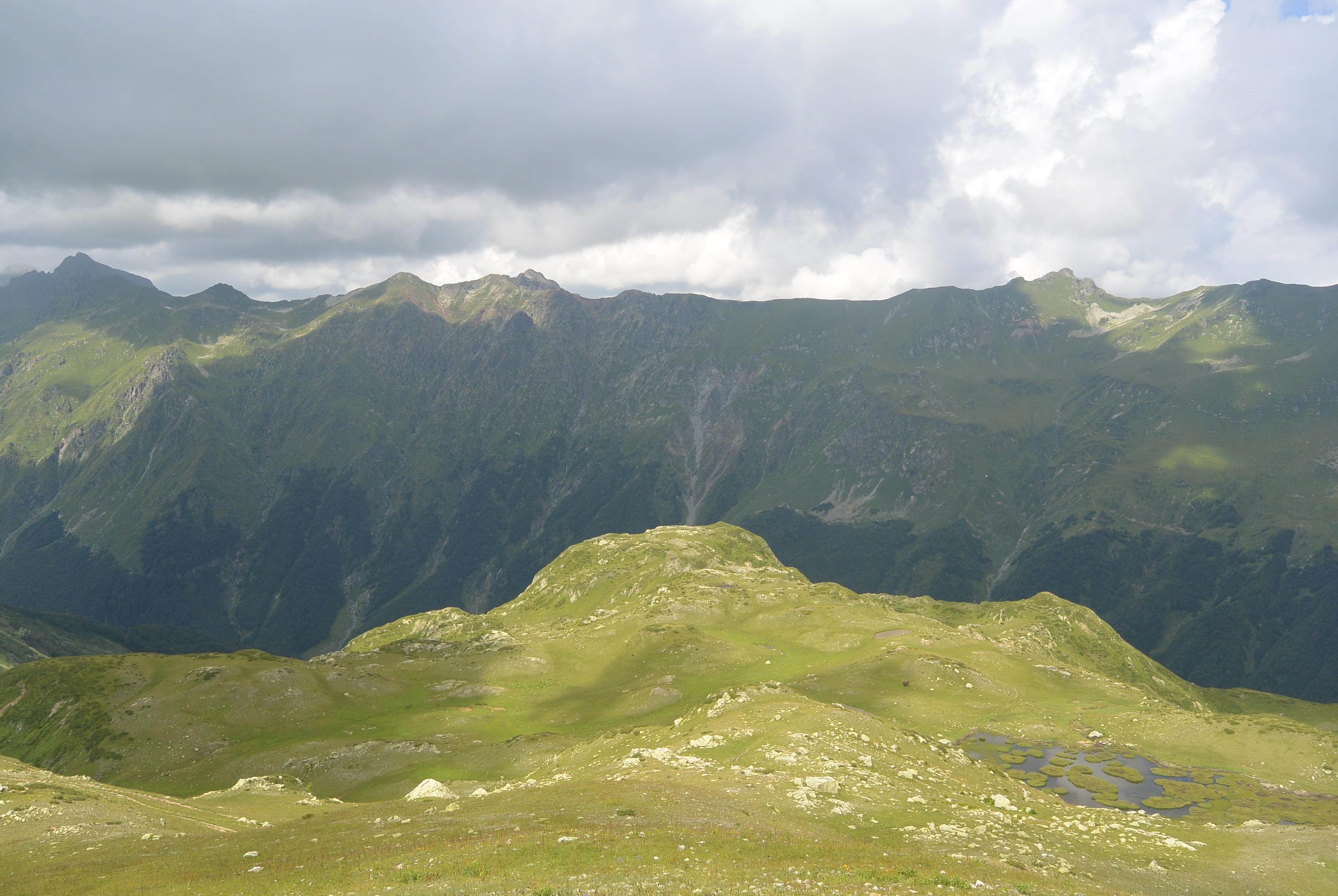 Семь озер и перевал Дамхурц