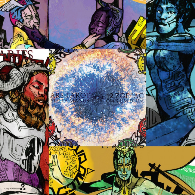 Ars Tarot of The 12 Zodiac (2015)