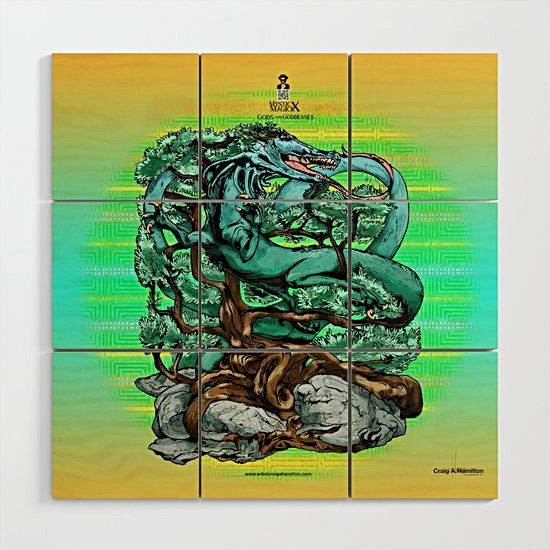 """Seiryu, The Wooden Dragon of The East"" Signature Series Original Wood Art Prints"