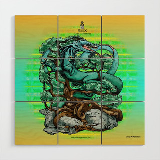 """""""Seiryu, The Wooden Dragon of The East"""" Signature Series Original Wood Art Prints"""