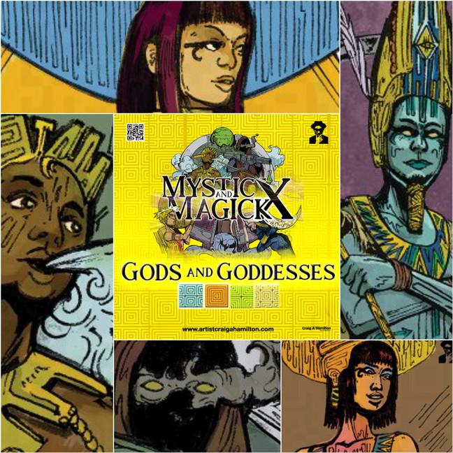 Mysticx & Magick - Gods and Goddesses (2020-20XX)