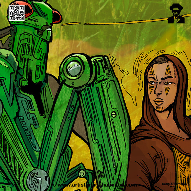 A Mantis and a Prayer - The Stalking Robot Mantid and The Shepherd