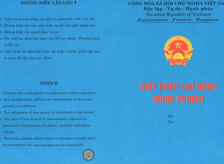 HOW TO GET WORK PERMIT FOR FOREIGN EMPLOYEES IN VIETNAM