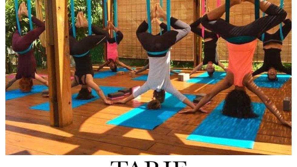 Carte de 5 séances d'Aerial Yoga (présentiel)