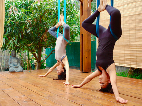 L'Aerial Yoga, un libérateur émotionnel