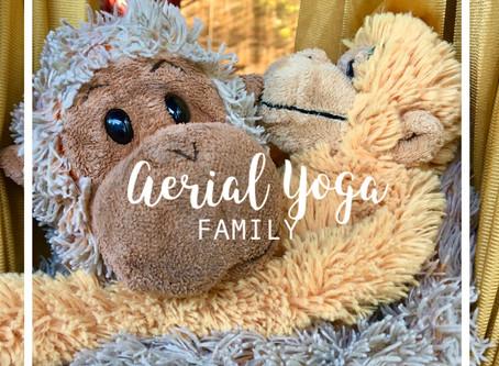 Aerial Yoga en Famille !