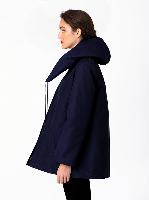 Wholesale #016 - The Lasalle Water-Resistant Parka (Navy)