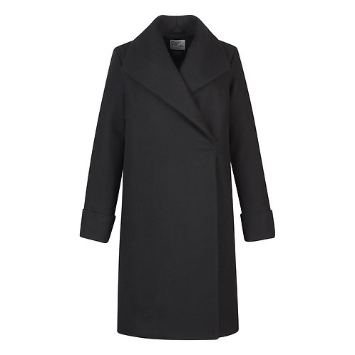#017 - The Southport Overcoat (Black)