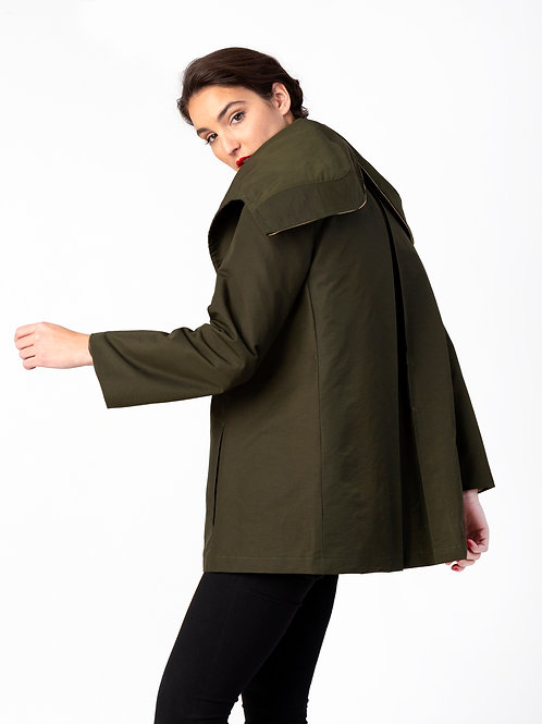 Wholesale #016 - The Lasalle Water-Resistant Parka (Olive)
