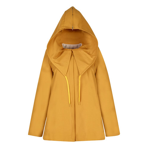 #016 - The Lasalle Water-Resistant Parka (Marigold))