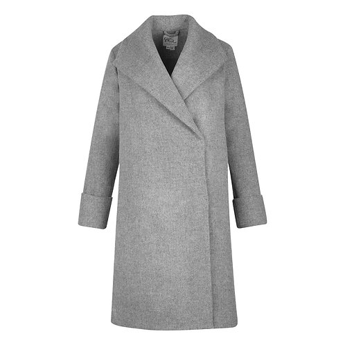 #017 - The Southport Overcoat (Grey)