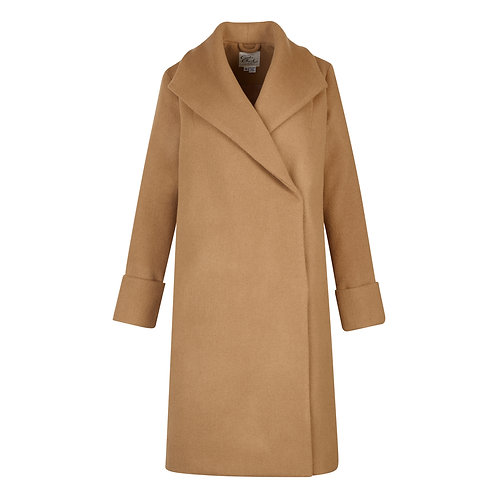 Wholesale #017 - The Southport Overcoat (Caramel)