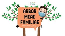 🌳Un árbol genealógico en latín para presentar a nuestra familia