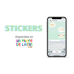DESCARGA: ¡Stickers latinos!