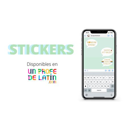 DESCARGA: ¡Stickers latinos!