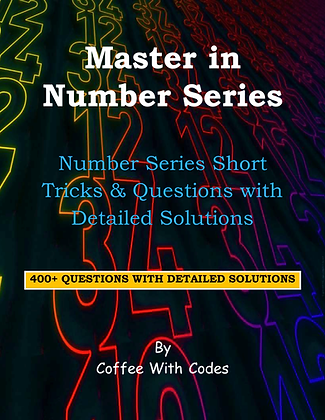 Master in Number Series by Coffee With Codes
