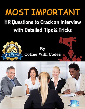 HR Questions to Crack An Interview with Detailed Tips & Tricks by Coffee With Co