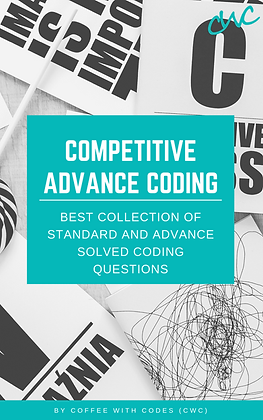 Competitive Advance Coding (150+ Questions)