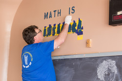 Volunteer School Painting