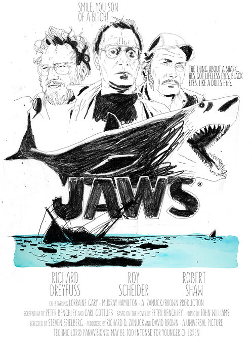 SESSÃO DE CINEMA: JAWS