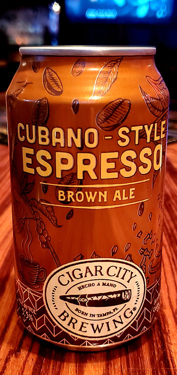 Cigar City Cuban Espresso Brown 12oz