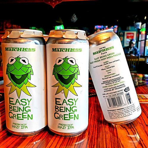 Matchless Easy Being Green FRESH HOP 16/4pk