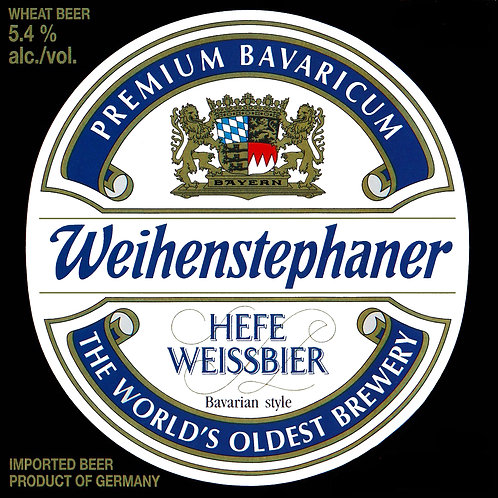 Weihenstephan Hefeweissbier 32oz