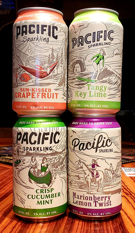 Pacific Sparkling Seltzer 12oz (All Flaves)