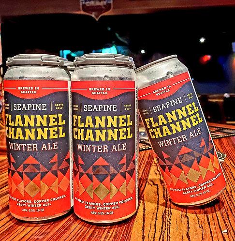 Seapine Flannel Channel 16/4pk