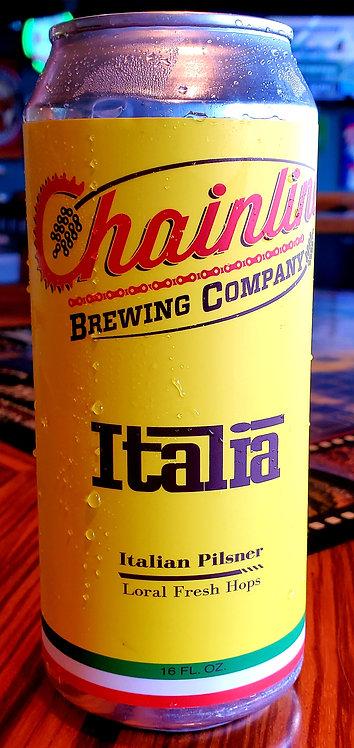 Chainline Italia Brut Pils FRESH HOP 16oz