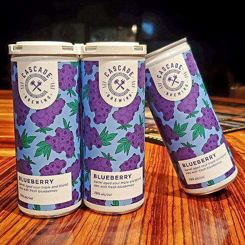 Cascade Blueberry 8.5/4pk