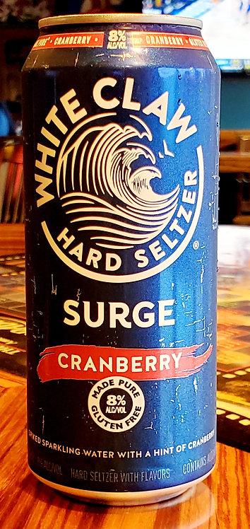 White Claw Cranberry Surge (8%) 16oz