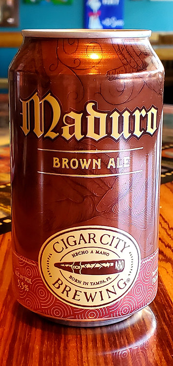 Cigar City 	Maduro Brown 	12