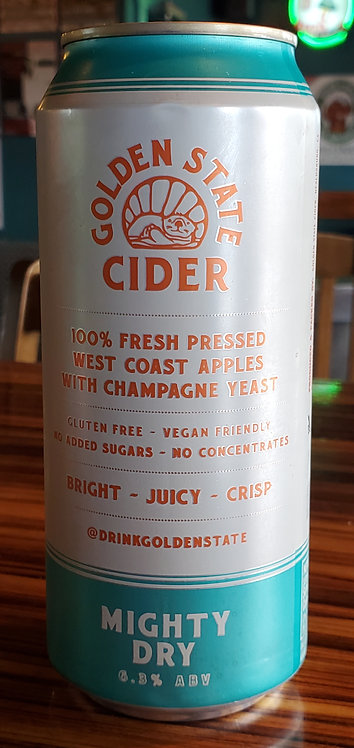 Golden State Mighty Dry Cider 16oz