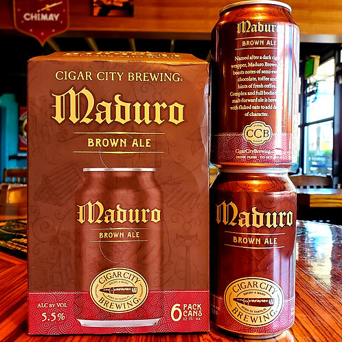 Cigar City Maduro Brown	12/6pk