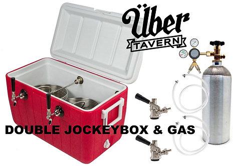 Jockey Box Rental (double) No kegs bought