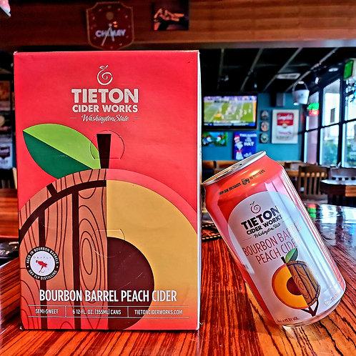 Tieton Bourbon Barrel Peach 12/6pk