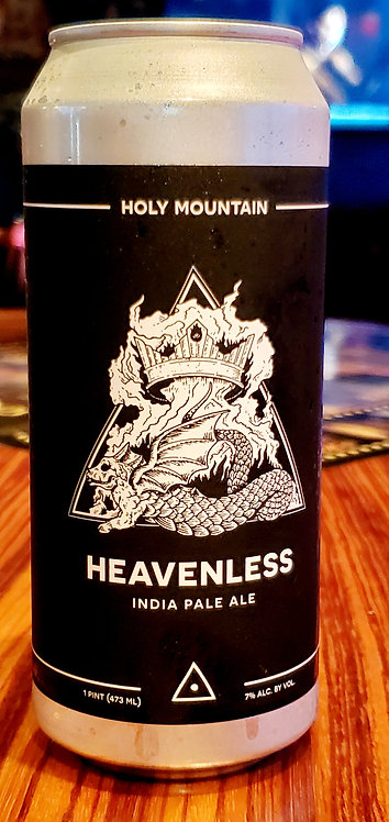 Holy Mountian Heavenless IPA 16oz