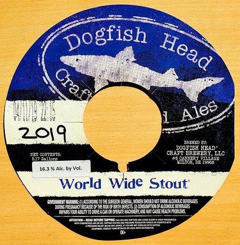 Dogfish 2019 World Wide Stout 32oz