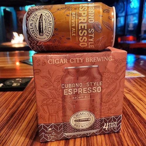 Cigar City Cuban Espresso Brown 12/4pk