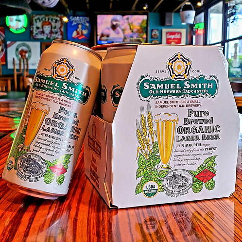 Samuel Smith Organic Lager 14.9/4pk