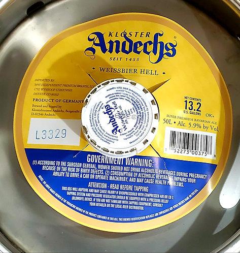 Andechs Weissbier Hell 32oz