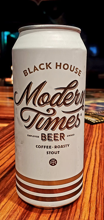 Modern Times Black House Coffee Stout 16oz