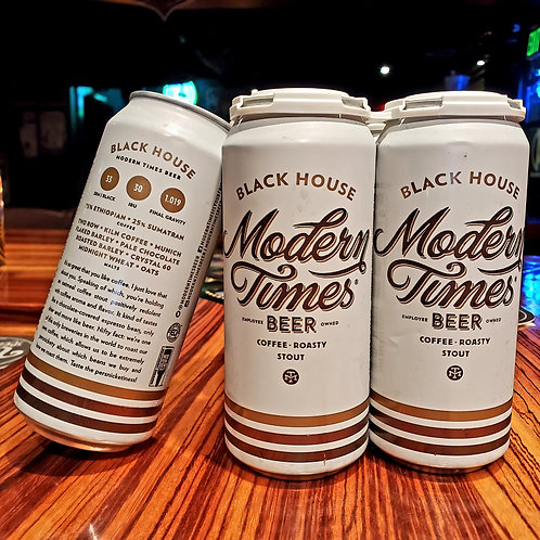 Modern Times Black House Coffee Stout 16/4pk