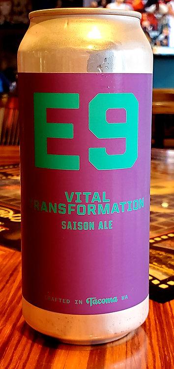 E9 Vital Transformation Saison 16oz