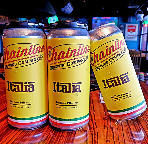 Chainline Italia Brut Pils FRESH HOP 16/4pk