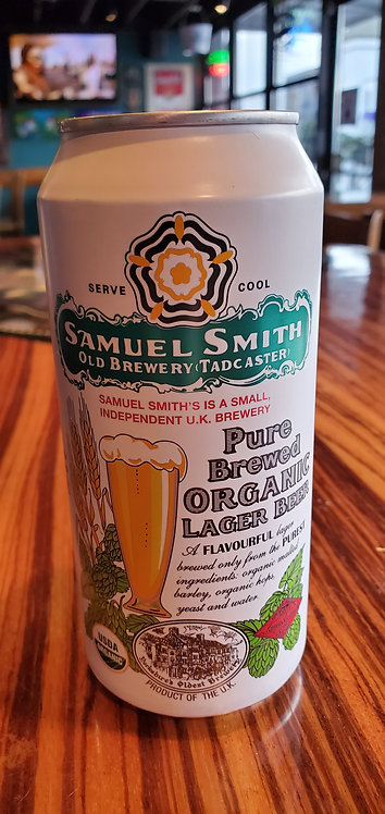 Samuel Smith	Organic Lager	14.9