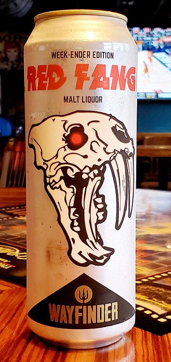 Wayfinder Red Fang Malt Liquor 19.2oz