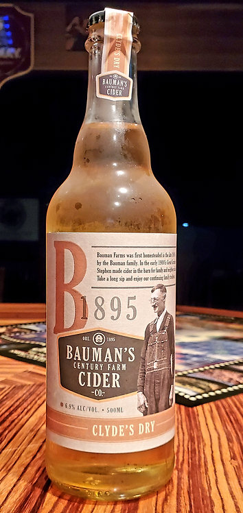 Bauman's Century Farm Cider 16.9oz