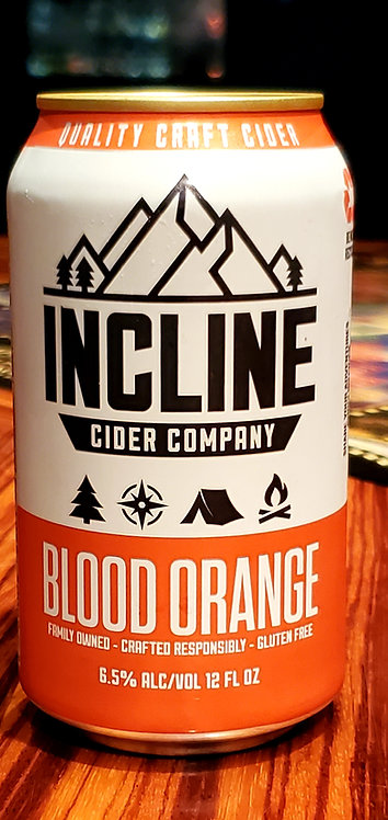 Incline Blood Orange Cider 12oz